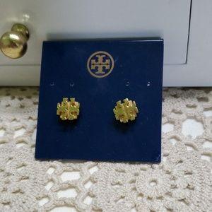 NEW T Logo Tory Burch earrings